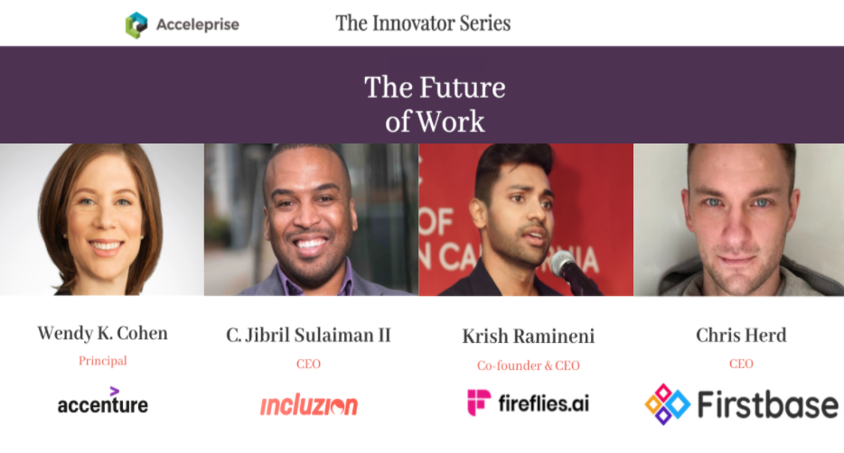 The Innovator Series: Future of Work | Panel Discussion