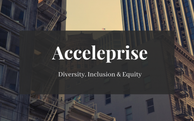 Diversity, Inclusion & Equity at Acceleprise | Phase 1: Hire, develop, and retain talent